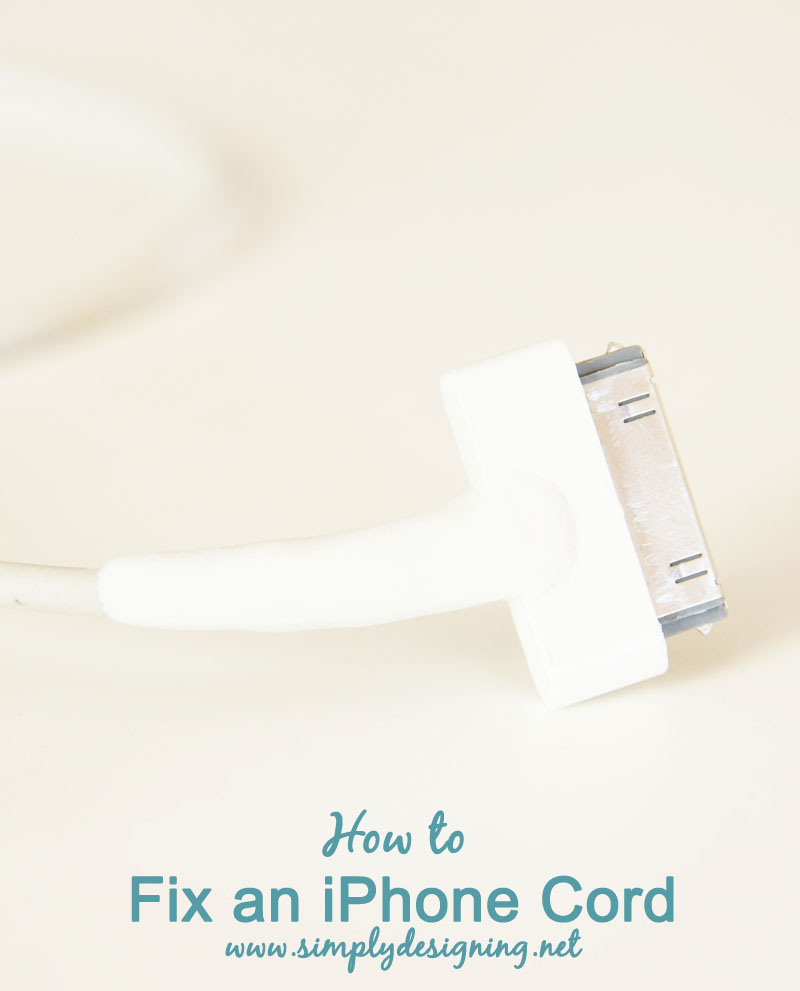 How to Fix an iPhone Cord | #iphone #ipad #sugrumoms #ad