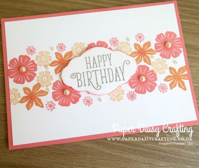 Beautiful Bouquet beginner card from Stampin' Up!