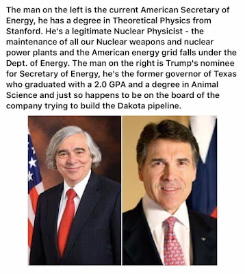 Rick Perry Sec'y of Energy