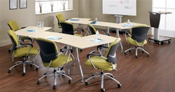 Collaborative Training Room Tables