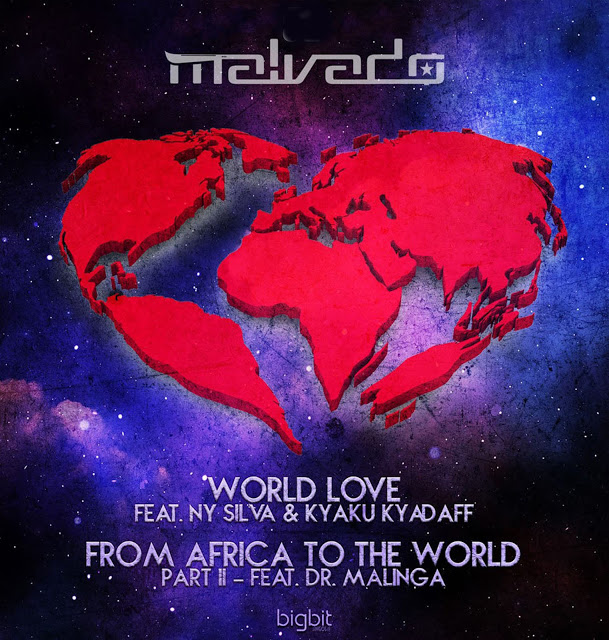 Dj Malvado Feat. Ny Silva & Kyaku Kyadaff - World Love (Original Mix) - Download House Music Mp3