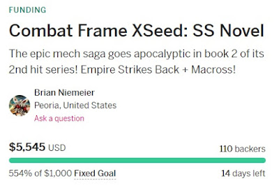 Combat Frame XSeed: SS 554%