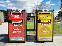 Wodonga Public Art   Creative Bins
