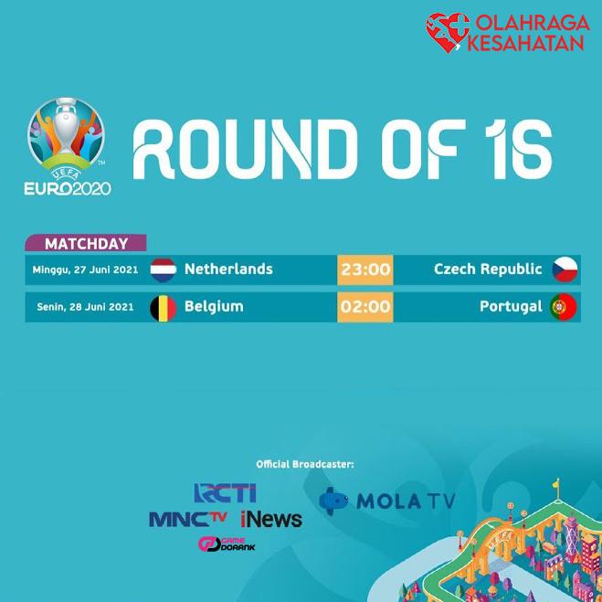 Jadwal Siaran Langsung Euro 2020 Malam Ini: Ada 2 Partai Big Match