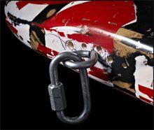 Sujeción de la Correa de la Guitarra de Eddie Van Halen Frankenstrat