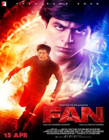 Fan 2016 Hindi 700MB Best DVDScr x264