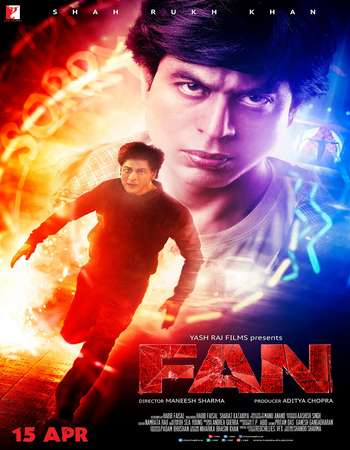 Download Fan 2016 Hindi 400MB Best DVDScr 480p x264
