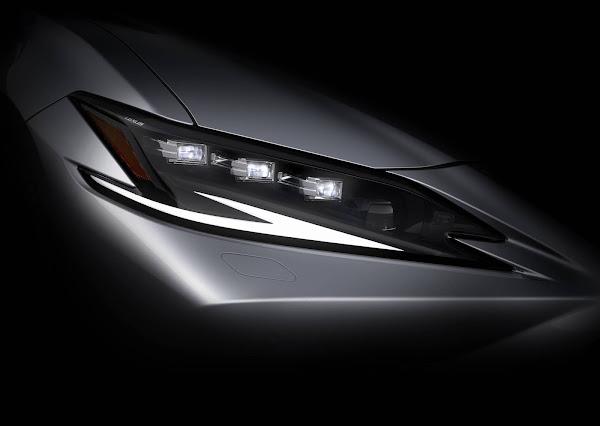 Novo Lexus ES 2022: primeira imagem oficial divulgada