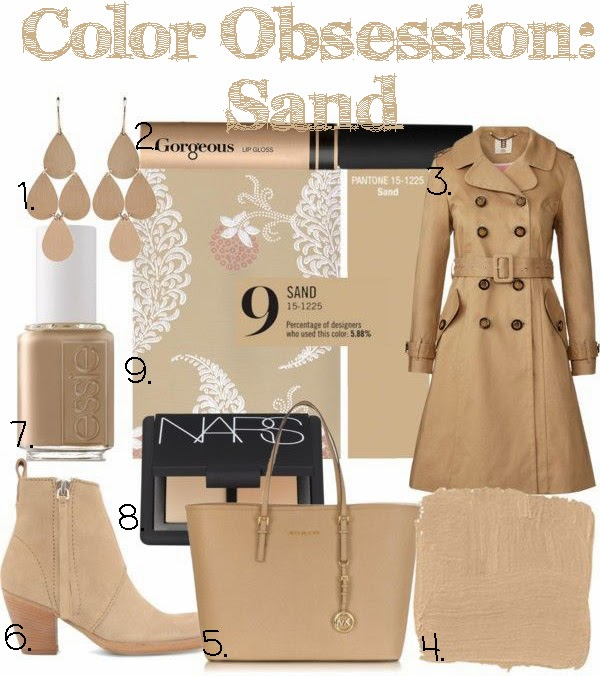 pantone sand 2014 spring color