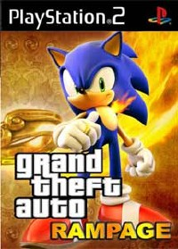 Grand Theft Auto San Andreas Sonic Rampage PS2 ISO