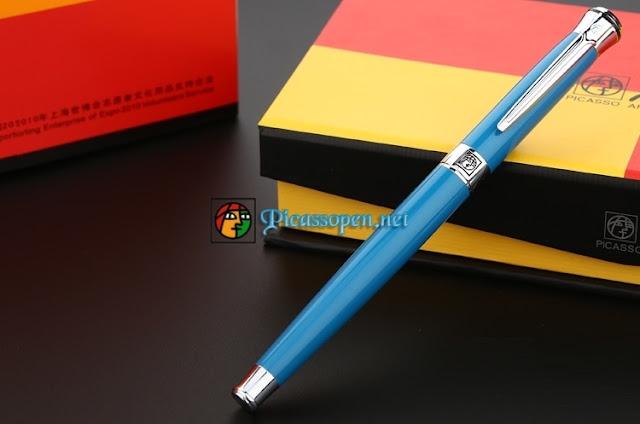 Bút cao cấp Picasso Pimio 903 màu xanh