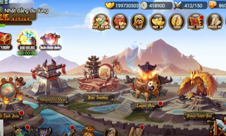 Tải game Soái Ca Tam Quốc Việt hóa Free VIP 10 + 2 tỷ KNB + 4 thần tướng đỏ SSS | App tải game Trung Quốc hay
