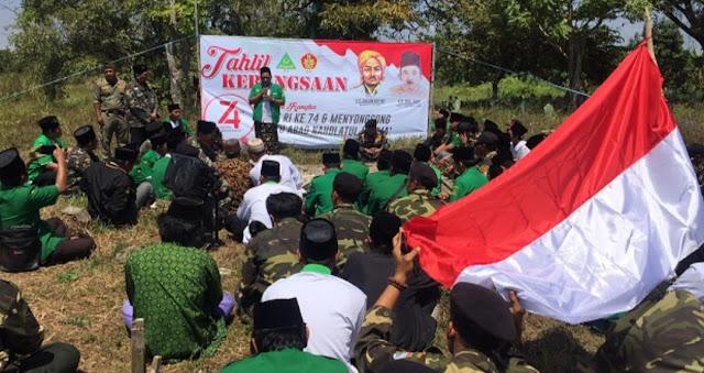Ansor Gelar Tahlil Kebangsaan di Makam Wakil Rois Akbar PBNU