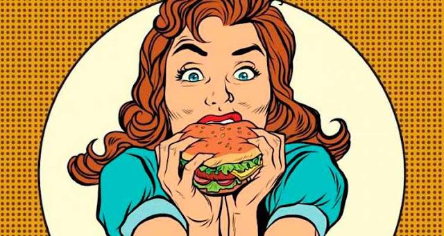 Preste atenção à cada garfada quando fizer suas refeições – Reprodução