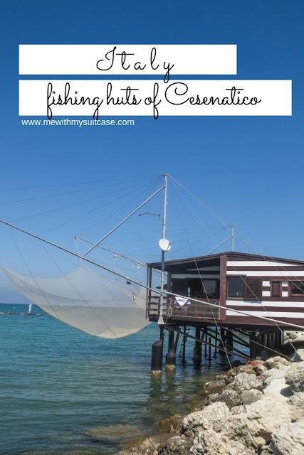"""Fishing huts of Cesenatico """"Capanno da Pesca"""""""