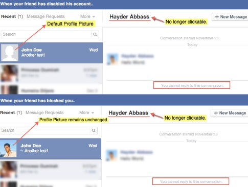 how to tell if you have been blocked on facebook