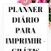 Planner grátis: 5 folhas para planejamento diário