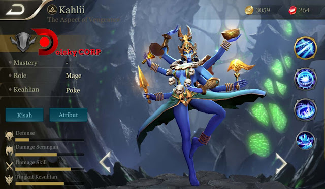 Arena of Valor : Hero Kahlii ( The Aspect of Vengeance ) High Damage Builds Set up Gear