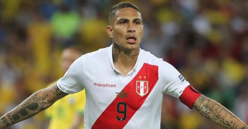 Paolo Guerrero no jugará partidos amistosos de Perú ante Ecuador y Brasil