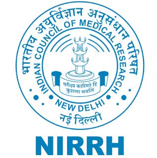 NIRRH Recruitment 2020