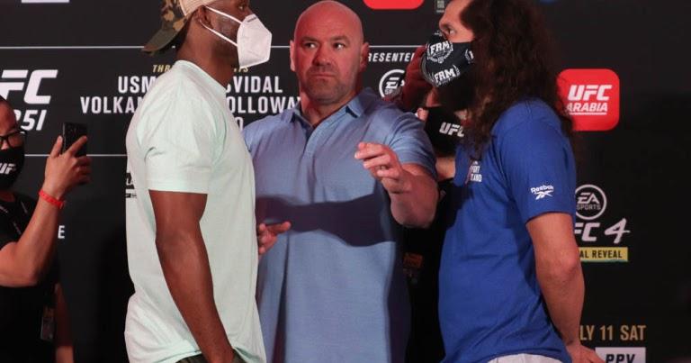 UFC 251 Results - Kamaru Usman Vs Jorge Masvidal