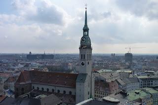 Peterskirche desde la torre del Neues Rathaus.
