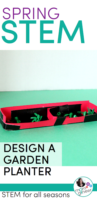 Spring STEM Challenge - Design and create a garden planter box. | Meredith Anderson - Momgineer