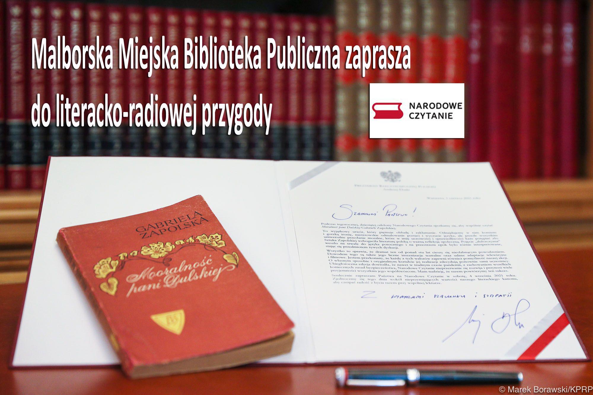 Malborska Miejska Biblioteka Publiczna zaprasza do literacko-radiowej przygody