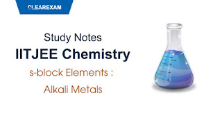 s-block Elements – Alkali Metals
