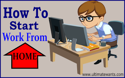 How to start work from home jobs without investment
