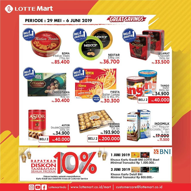 #LotteMart - #Promo #Katalog Koran Periode 29 Mei - 06 Juni 2019
