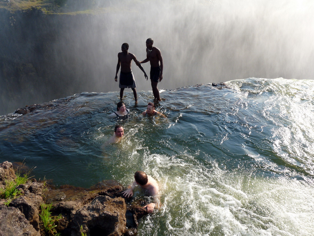 Victoria Falls Wallpapers High Resolution Worldimage4u Devil S Pool Victoria Falls Zambia