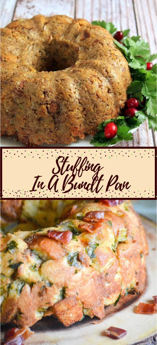 Stuffing In A Bundt Pan #dinnerrecipe #food #amazingrecipe #easyrecipe