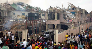 Video Of Before And After Explosion That Occurred In Abule Ado Yesterday (Watch Video)