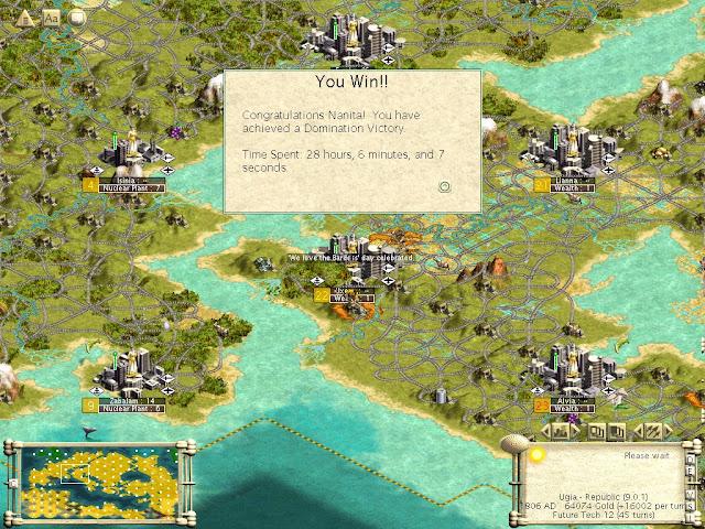 Civilization 3 - Domination Victory Description