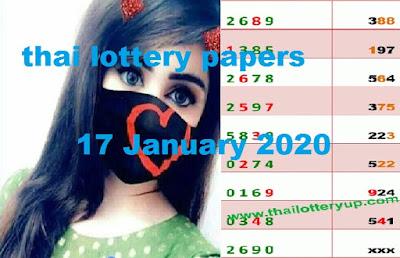 Thailand Lottery 3up Saudi Arabia Facebook Timeline 17 January 2020