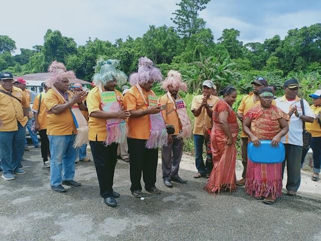 Partai hanura mengadakan acara pelantikan PAC-PAR DAPIL sorong selatan  IV