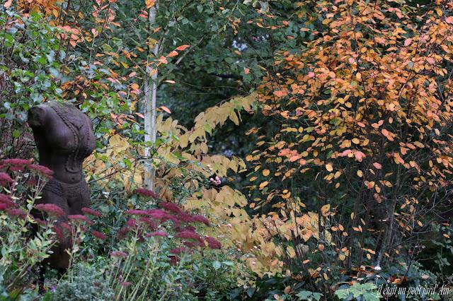 statue décoration jardin