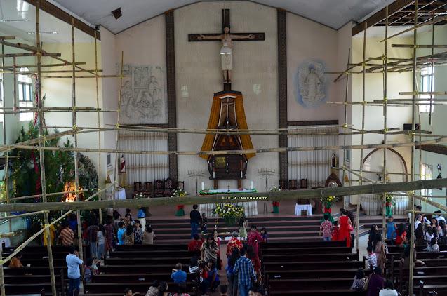 Misa Minggu Pagi Pk 06.00 WITA di Gereja Santa Theresia Rantepao ||JelajahSuwanto