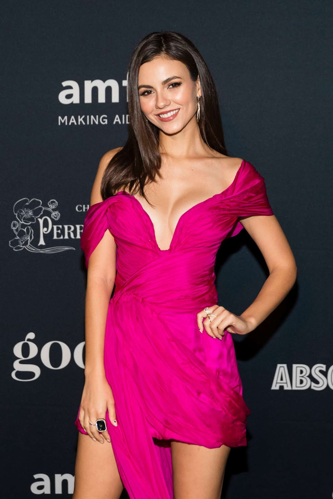Victoria Justice – 2019 amfAR Charity Poker Tournament and Game Night in San Francisco