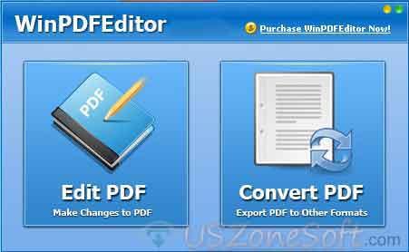 WinPDFEditor- screen 1
