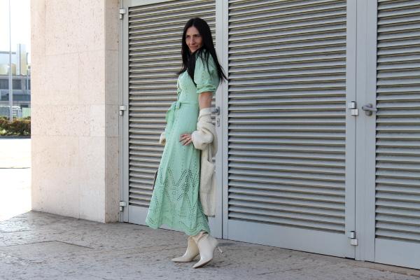tendenze primavera estate 2021, primavera con shein, abito verde, abito shein, shein, paola buonacara, influencer italiana, fashion blogger