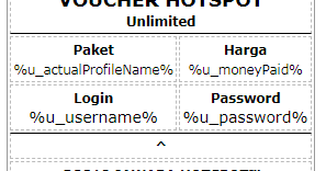 Mikrotik User Manager Voucher Template Free