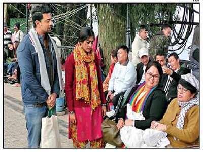 Film-makers return to Darjeeling for shoot