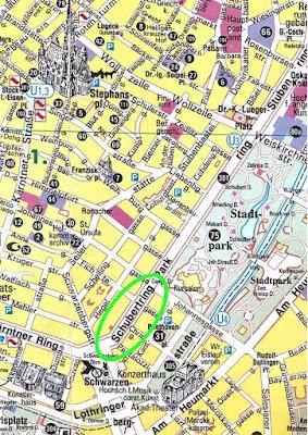 Stadtplan Wien Schubertring