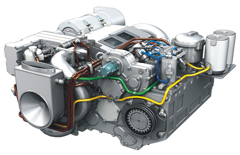 Серія двотактних дизельних двигунів 3ТД