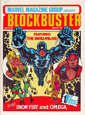 Blockbuster #1, the Inhumans