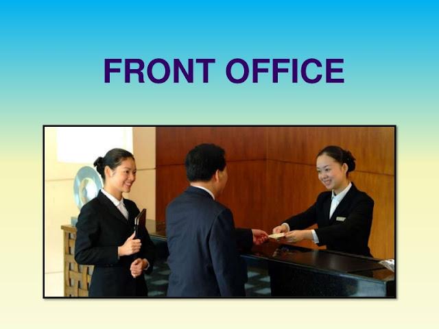 tugas dan tanggung jawab front office