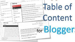 Cara Membuat Daftar Isi (Sitemap) Blog Berdasarkan Label - Simple & Fast Loading