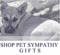 shop dog sympathy gifts & memorials